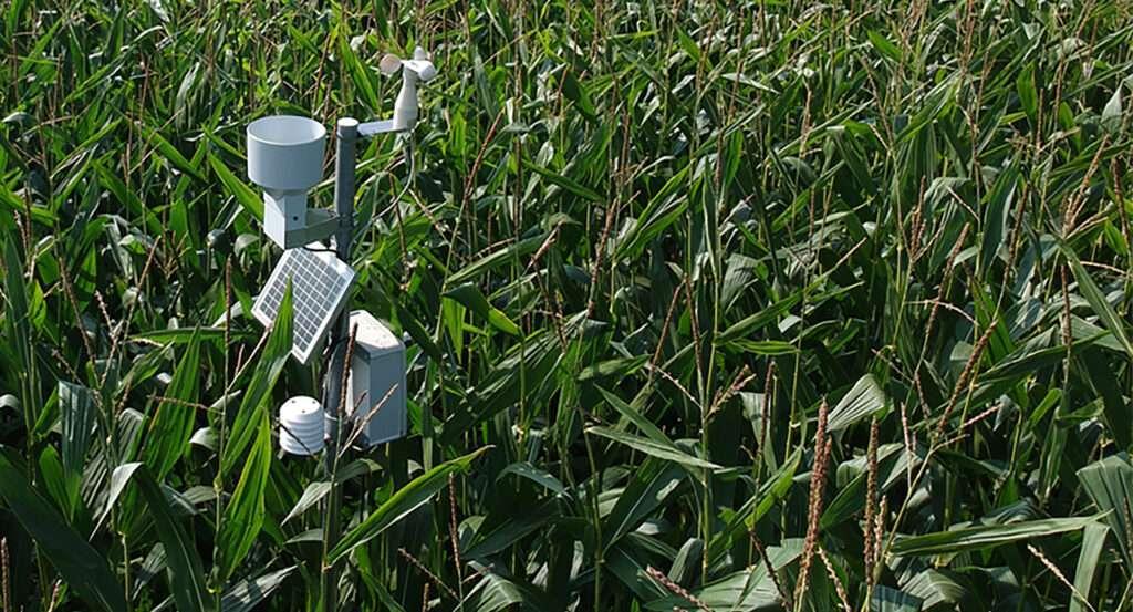 Meteobot Veha Plastics - een weerstation voor precisielandbouw